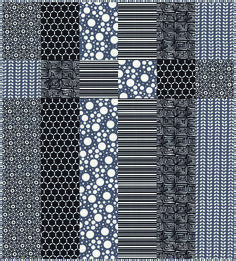 """""""Little Black Quilt"""" FREE quilt pattern by Barb and Mary at """"Me and My Sister"""" designs blog and store"""