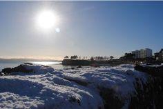 Snow in Torquay