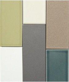 6pc Modern Basics Sample Kit Heath Ceramics Bathroom Tile Palette