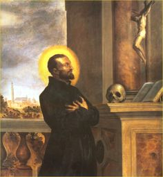 Saint Cajetan *Gaetano dei Conti di Thiene* (1480-1547) Son of Gaspar, lord of Thiene and Mary Porta. He founded the Theatines. In 1506 he became a prothonotary Apostolic in the court of Julius II *Giuliano della Rovere* he served an important part in reconciling the Republic of Venice with Pope Julius II.