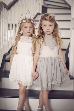 ook no further, the Katarina Lace Dress is THE dress of the season & incredibly GORGEOUS in person. One of our top picks! #GirlsLaceDress  modernechild.com