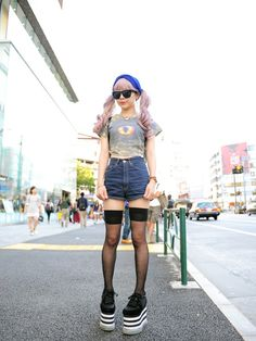 Style of the Day 188 – Time Out Tokyo: Peach, Romantic Standard shop staff, Harajuku