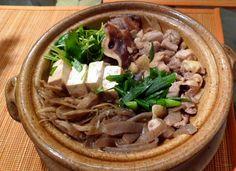 Chicken Sukiyaki...I remember that word SUKIYAKI, loved saying it as a kid...do not like tofu
