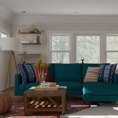 Eclectic And Layered Living Room Design Ideas.