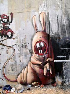 Street Art  by Leim