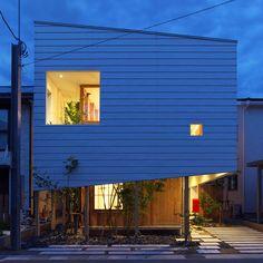 東海林健建築設計事務所 『OH!house』 https://www.kenchikukenken.co.jp/works/1234486563/4/ #architecture #建築