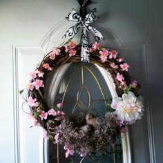 Spring in full bloom! My absolute favorite wreath!