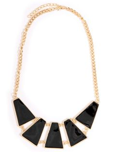 Epoxy Plate Statement #Necklace