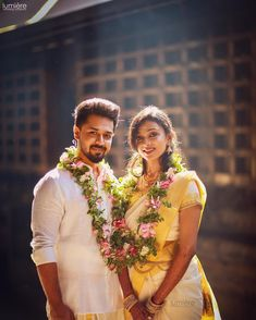 South Indian Wedding Bride and Groom Wedding Stills, Wedding Poses, Wedding Photoshoot, Wedding Couples, Wedding Bride, Wedding Card, Wedding Albums, Temple Wedding, Wedding Shoot