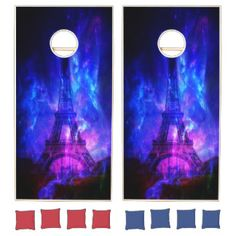 Creation's Heaven Paris Amethyst Dreams Cornhole Set