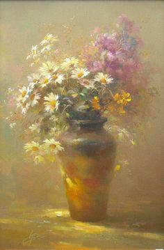 Новости Acrylic Flowers, Watercolor Flowers, Watercolor Art, Art Pictures, Pictures To Paint, Still Life Flowers, Still Life Art, Pastel Art, Art Floral