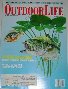 Outdoor Life July 1992 Muskies do You Dare Fight The Water Wolf Outdoor Art, Outdoor Life, Magazine Art, Magazine Covers, Fishing Magazines, Life Cover, Dares, Plant Leaves, Wolf