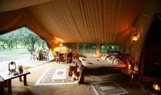 Safari Tent, Governors Il Moran Camp, Masai Mara, Kenya   www.governorscamp.com