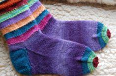 Purple Socks inspiration