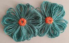 Broches de flores - Broches flores de Alegría. - hecho a mano por floresalegria en DaWanda