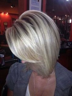 highlighted bob hairstyles for