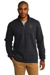 Alpha Phi Alpha Emblem 1/4 Zip Pullover