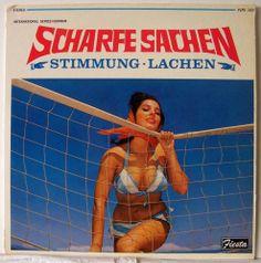 Scharfe Sachen Stimmung Lachen NM Vinyl LP German Music