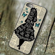 Disney Alice in Wonderland with Butterflies - tr3for Iphone 6 and Iphone 6s Case. PRICE WON'T LIE, Our case price is representing the quality, don't compare our case with another low quality case that have a very cheap price.We have the BEST QUALITY HANDMADE CASES with clear image print in affordable price.Easy access to all ports, control sensors easily, and very comfortable to carry. Available Materials are PLASTIC and RUBBER ... Available Colors are BLACK and WHITE. Made and Ship from...