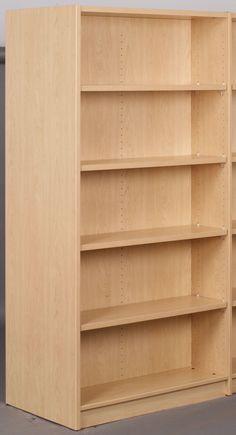 "Library Starter Double Face Shelf 74"" Standard Bookcase"