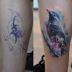 Tattoo of the day - Artist:  Bullet Bg   #tattooistartmagazine #tattooartist #tattoo #tattooist #artist #art #realism #inked #ink #artgram #tweetgram #instagramers #ig #like #follow #cool #tattoomag #tattoomagazine #tattooistartmag #bird - @TattooistArt Magazine- #webstagram