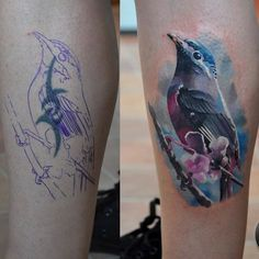 The colours in this tattoo are amazing!! ♥