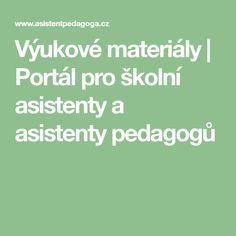Výukové materiály   Portál pro školní asistenty a asistenty pedagogů Portal, Math Equations