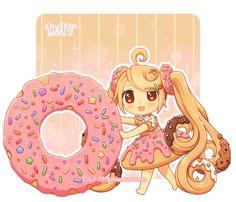 Donut by *DAV-19 on deviantART