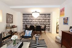 Ross's Greenwich Village Home//If anyone knows Ross....I'd like to live with him.  Here.  In this fabulous apartment.