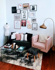 Home Decoration; Wall … – Home Office Design Layout Home Office Design, Home Office Decor, Home Decor, Chic Apartment Decor, Interior Design Living Room, Living Room Designs, Living Room Decor Tumblr, Girls Apartment, Single Girl Apartment