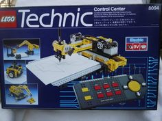 Buy New: $999.00: Collectible Lego Technic Control Center #8094 - Electric System 9V - 1990 - RARE - searching!