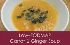 Low-FODMAP Carrot & Ginger Soup #FODMAP