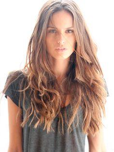 loving brown hair