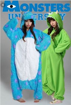 Mike and Sully Monsters Inc. Best friend onesies