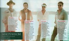 Mumford & Son's Who's Who...as if we didn't already know!!!