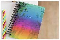 Daydream about being on your summer holidays whilst scribbling your notes in this colourful notebook. A5 Notebook, Scribble, Daydream, Back To School, Finding Yourself, Card Making, Stationery, Notes, Architecture