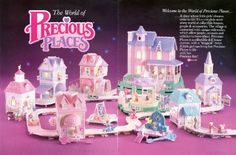 Precious Places, le Village aux Clefs Magiques (Fisher Price) 1989 - 1990 Plus Fisher Price, 90s Childhood, My Childhood Memories, Popular Toys, 90s Toys, 80s Kids, Ol Days, Classic Toys, Electronic Toys