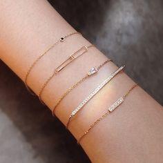 Vale Jewelry - Conflict-Free Fine Jewelry for Everyday Hand Jewelry, Dainty Jewelry, Simple Jewelry, Cute Jewelry, Jewellery, Fashion Jewelry, Women Jewelry, Bracelet Designs, Bangle Bracelets