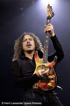 Kirk Hammett, Metallica by henrimikael on DeviantArt