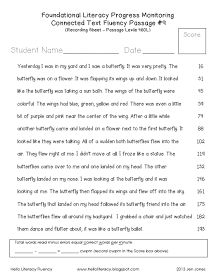 Hello Literacy: NEW: 60 Hello Literacy Fluency Passages {All Lexile Leveled}