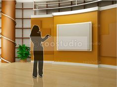 virtual set volume 2 Virtual Studio, Tv Decor, Home Decor, Chroma Key, First They Came, Decoration, Green, Diy, Crafts