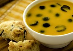 Carrot Olive Soup - California Ripe Olives