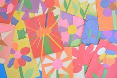 Fine Motor Spring Flower Craft For Kids