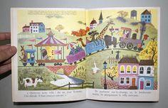 My Vintage Avenue !!! 50's and 60's illustrations !!!: Le manège vivant illustrated by J-P Miller :)