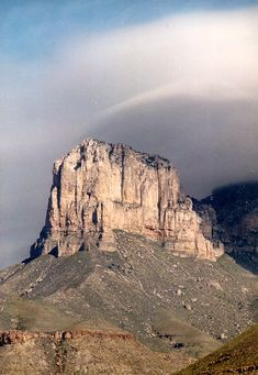 El Capitan in Guadalupe Mountains National Park is the most photographed mountain in Texas.