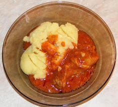 Ostropel de pui cu piure de cartofi Romanian Food, Stew, Mashed Potatoes, Cauliflower, Appetizers, Lunch, Meals, Chicken, Vegetables