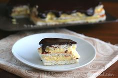 Low Carb Chocolate Eclair Cake Recipe | All Day I Dream About Food