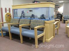 125 Gallon Aquarium The Top Is Key Locked So Kids Cant Get Into