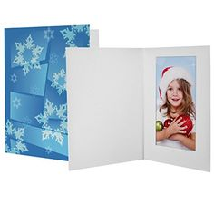 4x6 winter snowflake photo folders 100 pack want to know more click