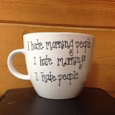 This mug, perfect for sipping your haterade: | 19 Perfect Gifts For People Who Hate People